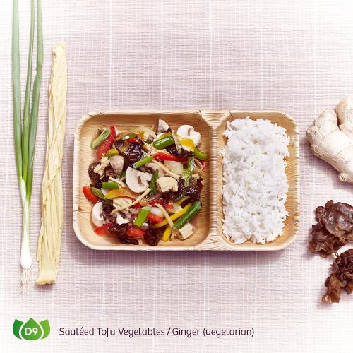 D9 Pad King Djeh Sauteed Tofu Vegetables Ginger